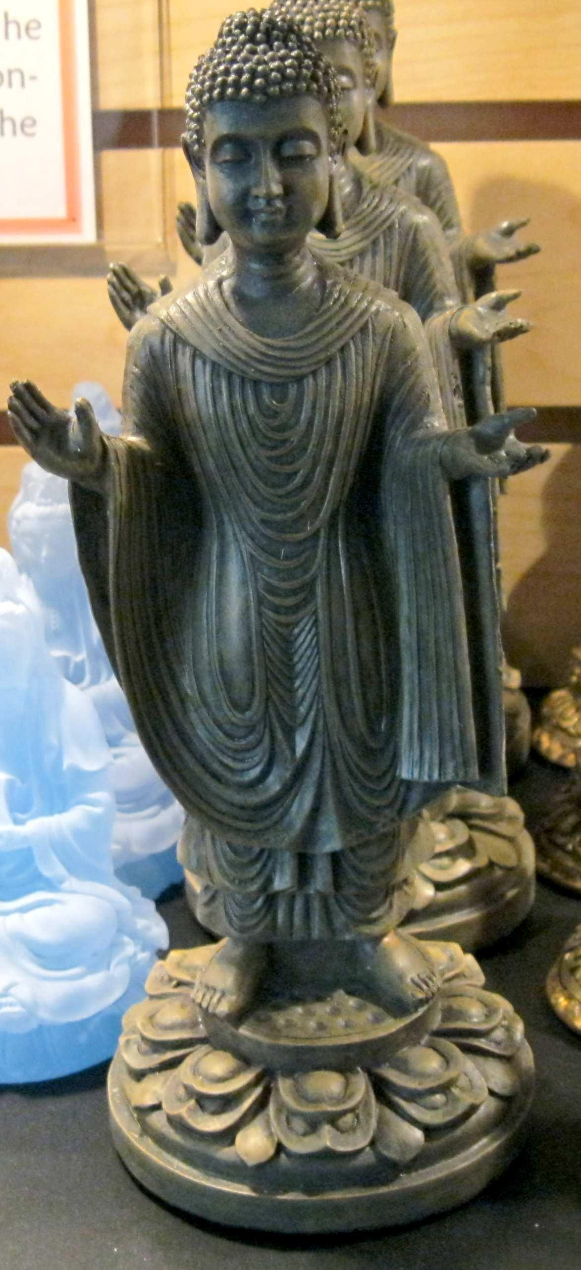 OPen hands Blessing Buddha 8 inch statue