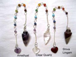Chakra Gemstone Pendulums