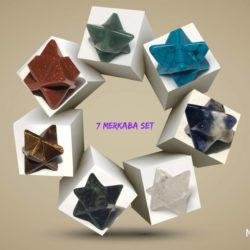 7 merkaba gemstones and crystals
