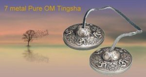 7 metal Pure OM tingsha