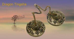 7 metal Dragon Tingsha