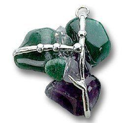 Healer Amulet (Health), Hand made gemstone pendant by Seeds of Light