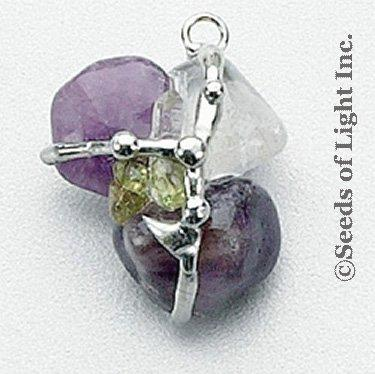 Rejuvenator Amulet (Energy), Hand made gemstone pendant by Seeds of Light