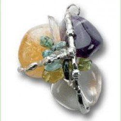 Prosperity Amulet (Abundance), Hand made gemstone pendant by Seeds of Light