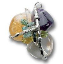 Prosperity Amulet (Abundance), Hand made gemstone pendant by Seeds of Light