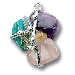 Recovery Amulet (Growth), Hand made gemstone pendant by Seeds of Light