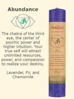 Abundance Chakra Candle