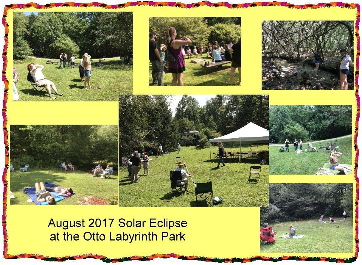 2017 Solar Eclipse at the Otto Labyrinth Park