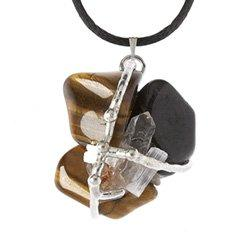 Thrive Amulet, Hand made gemstone pendant by Seeds of Light