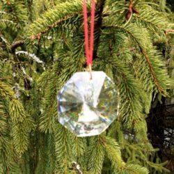 Feng Shui Octagonal 36mm crystal