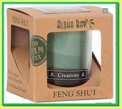 Feng shui creativity candle