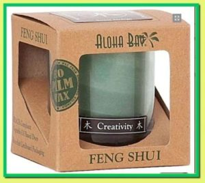 Feng shui creativity candle