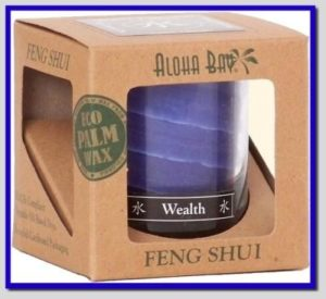 Wealth-Water Feng Shui Candle