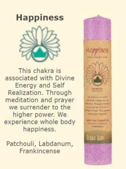 Happiness Chakra Candle