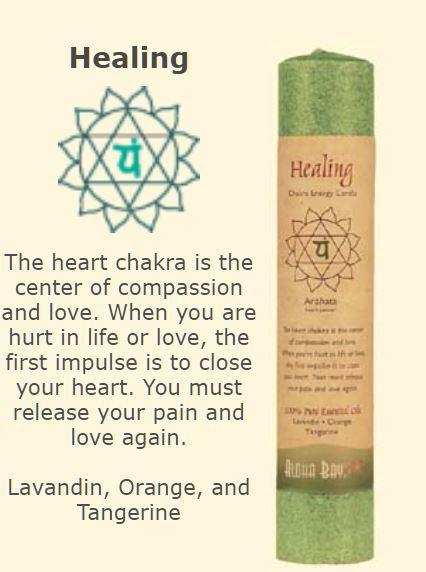 Healing Chakra Candle