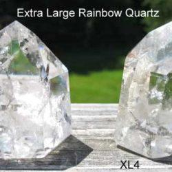 Extra Large Rainbow Quartz Crystals