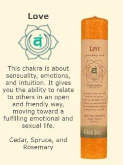 Love Chakra Candle