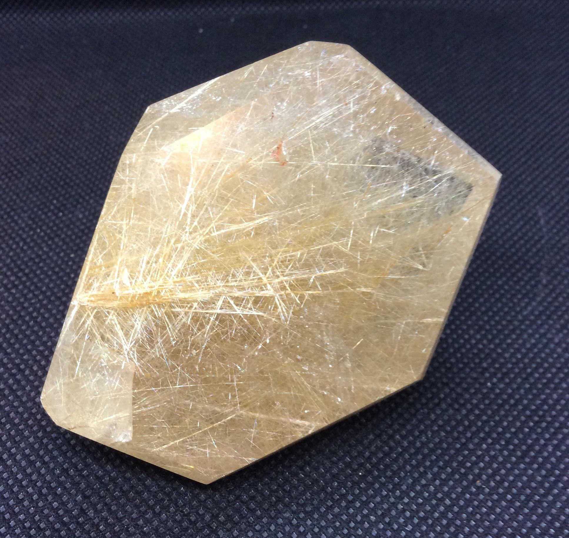 RI-10 Rutilated Quartz at Mountain Valley Center
