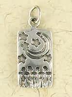 Women's Night Dance - Sterling Sterling silver pendant