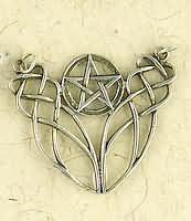 Pentacle Neckpiece Sterling silver pendant