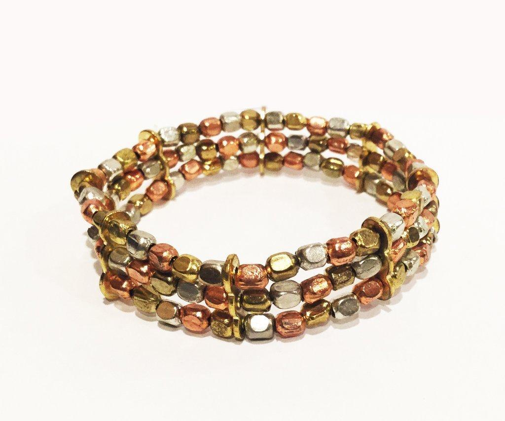3 Metal Tibetan Medicine Bracelet