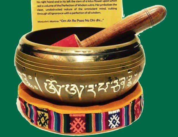 Authentic Modern Tibetan Singing Bowl for Wisdom and Clarity