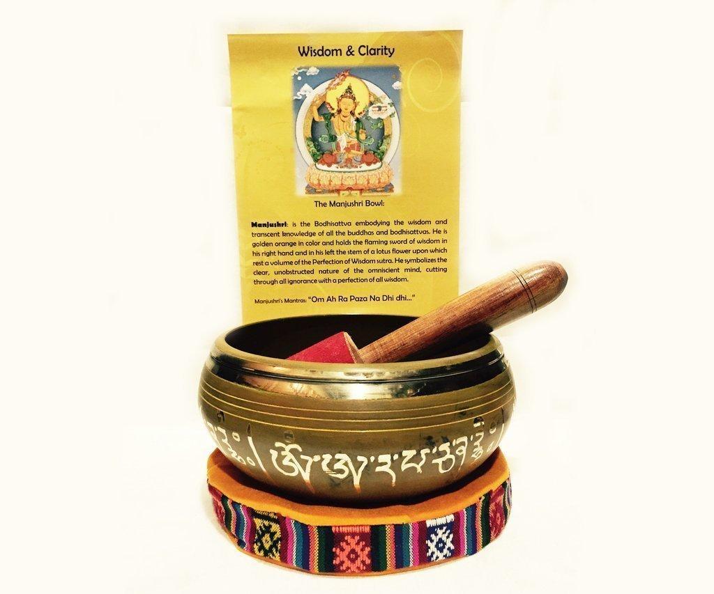 Wisdom and Clarity authentic Tibetan Singing Bowl