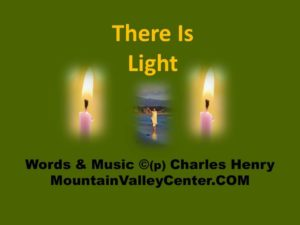 There is Light All Around You - This music video brings a sense of Peace and Love