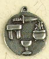Four Sacred Things Pewter Pendant