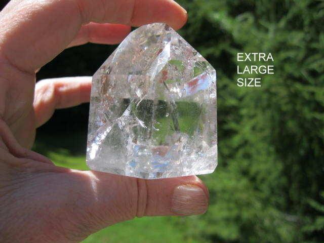 Extra Large Rainbow Quartz Crystal