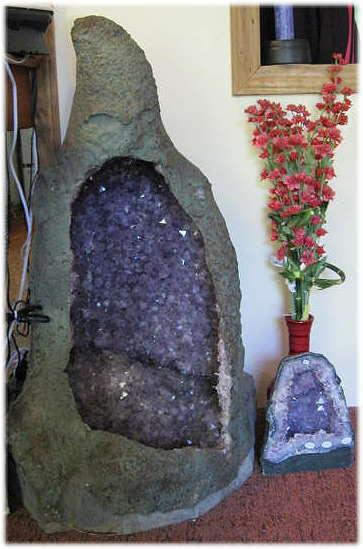 Large Amethyst Goddess Cathedral Geod
