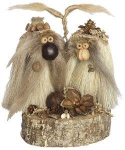 Anniversary Troll - handmade natural troll