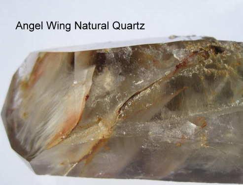 Angel Wing Natural Phantom Quartz
