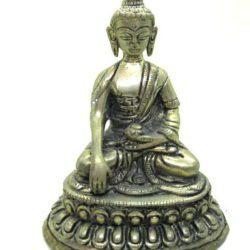 Brass Buddha Mudra - Touching Earth