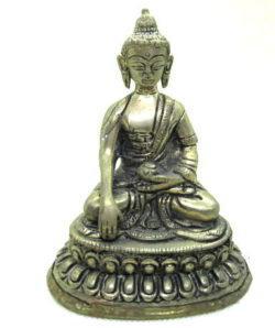 Brass Buddha Mudra - Touching Earth