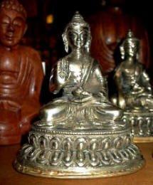 Abhaya Mudra Brass Buddha Statue