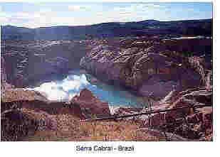 Lemurian Crystal Mine in Seirra Do Cabral