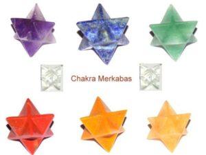 Chakra Merkaba Stones