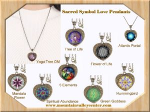 Sacred Symbol Love Pendants
