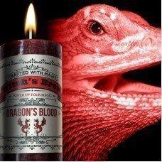 Dragon's Blood Pillar Candle