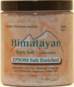 Himalayan Bath Salts - Epsom Enriched