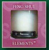 Metal - Success Feng Shui Candle