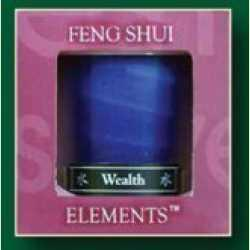 Water- Wealth Feng Shui Candle