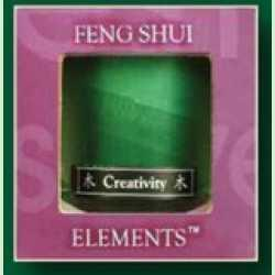 Wood - Creativity Feng Shui scented Candle