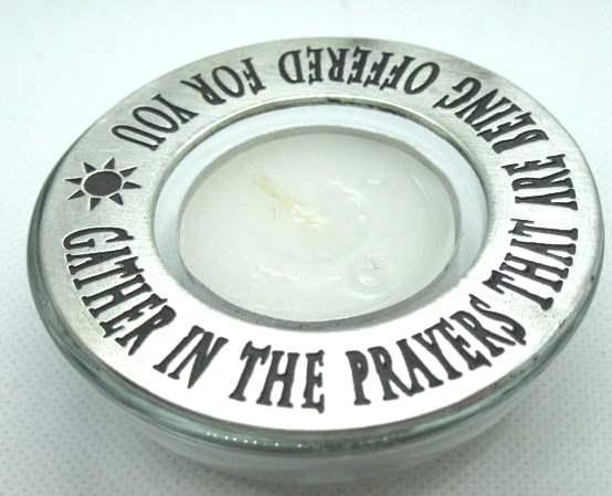 Gather Prayers Candle Ring