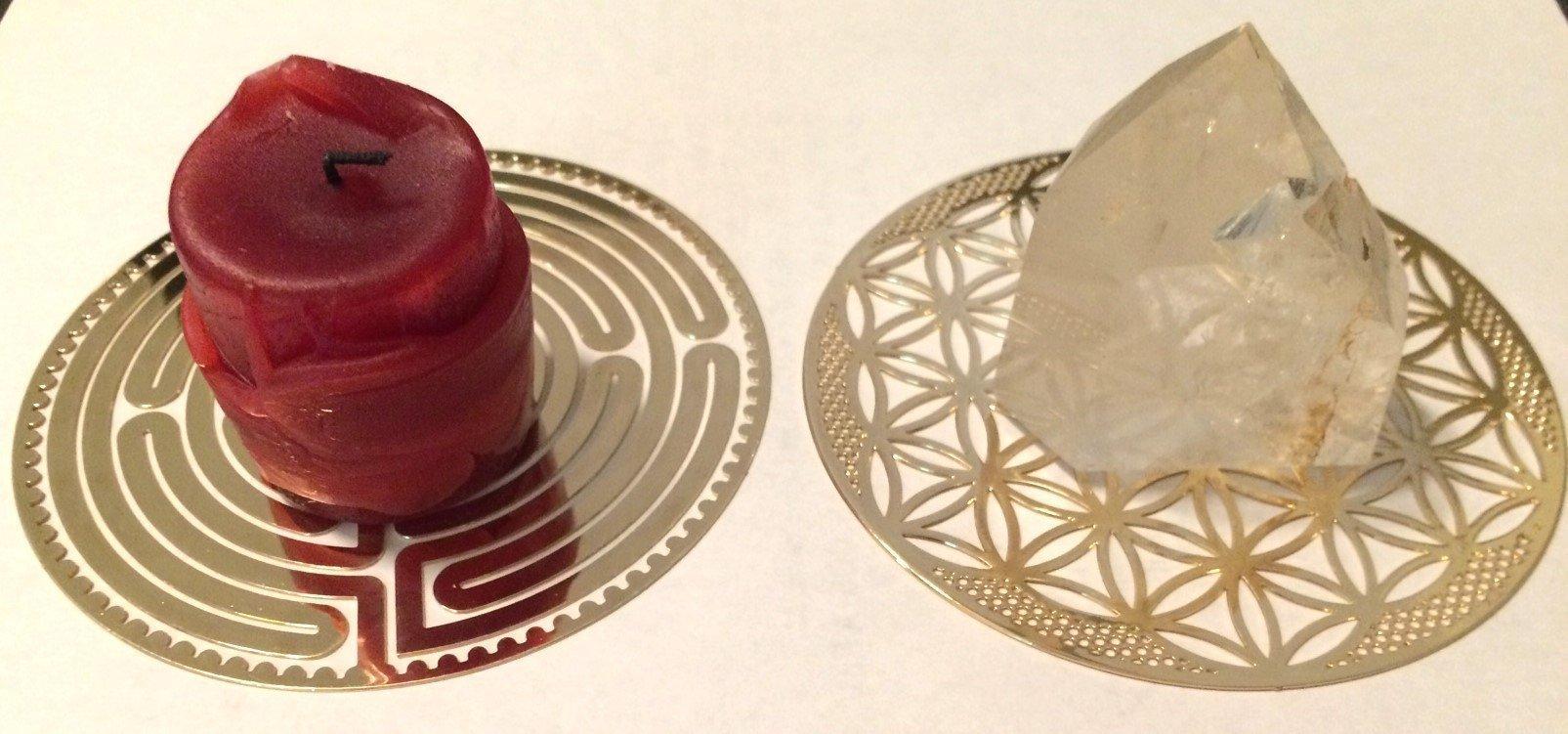 Golden Sacred Geometry Symbols