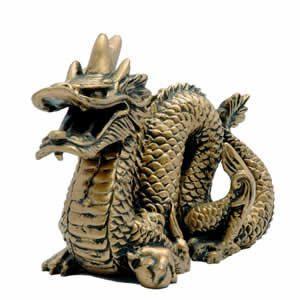 Feng Shui Gold Dragon