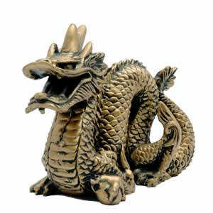 Feng Shui Gold Dragon