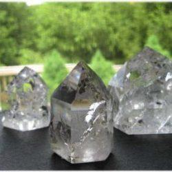 Rainbow Quartz Crystals