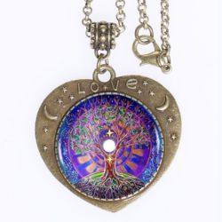 Mandala Tree of Life Love Pendant